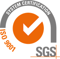 Certified to SGS ISO 9001 system certification